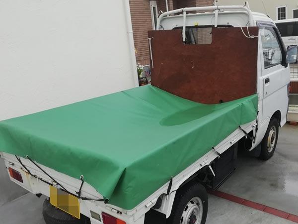 石巻便利屋フォーカスの買い物同行サービス(車両が必要な時に使う軽トラック外観写真)